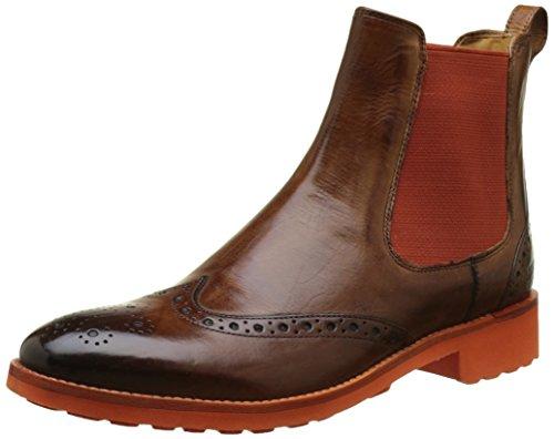Melvin & Hamilton Damen Amelie 5 Chelsea Boots, Marron (Crust Wood\Elastic Orange\Rook D Orange), 40 EU