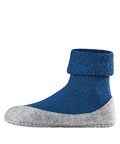 FALKE Damen Socken Cosyshoe rutschfeste Haussocken - 1 Paar, Gr. 41-42, blau, Stoppersocken mit Noppen