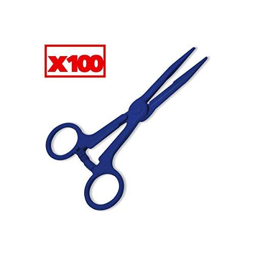 pince-kocher-plast-bleue-140-mm-str-a-uu-carton-de-100-pbs-8349-100