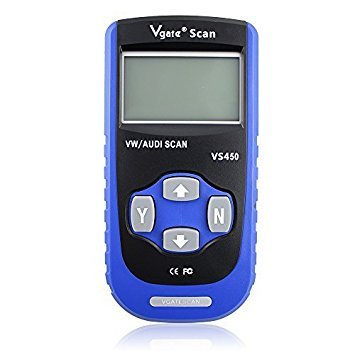 Vgate VS450 VAG CAN OBDII Diagnostic Scanner Code Reader Reset oil Service Light Engine ABS Air Bag Scan Tool Work with VW and AUDI