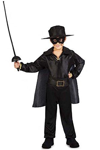 Imagen de disfraz zorro niño talla 5 6 años tamaño infantil