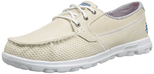 Skechers Performance On-the-go Flagship Slip-on Boat Shoe Stone