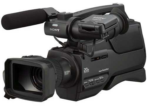 Sony HVR-HD1000P Camcorder Camera