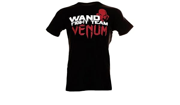 White Venum Mens Wanderlei Silva Wand Fury T-Shirt