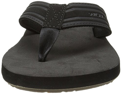 Quiksilver Herren Monkey Wrench Sandals Schwarz (Black/Black/Brown XKKC)