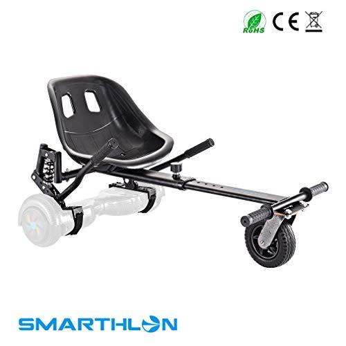 Smarthlon Hover Kart per Hoverboard Kart con Ammortizzatore Compatibile con Self Balancing Scooter da 6, 8, 10 Pollici