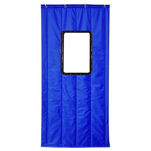 Guowei tenda termica per porta, isolante, antivento, trasparente, mantiene calde le aperture invernali, adatta ai clienti, 4 colori, 14 misure