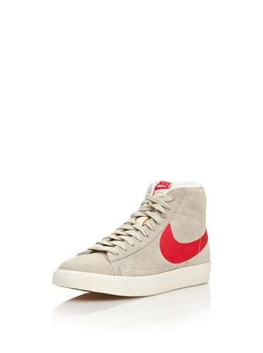 Nike Sneaker Woman Blazer Mid Suede Vintage Crema