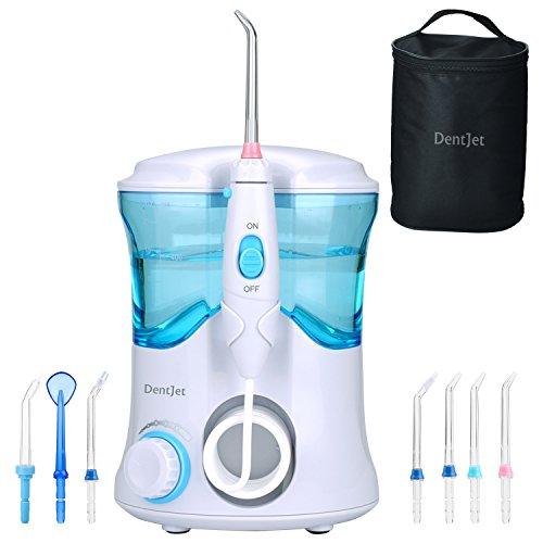[DentJet] Wasser-Flosser für wasserdichte pulsierend Munddusche Family Dental Care