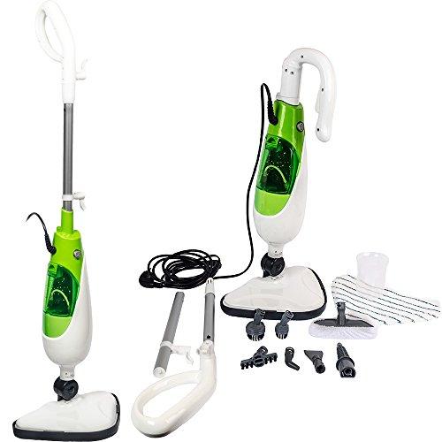 Grafner® 10in1 Dampfbesen Multifunktionsdampfbesen Dampfmop Dampf Mop Mob Dampfreiniger