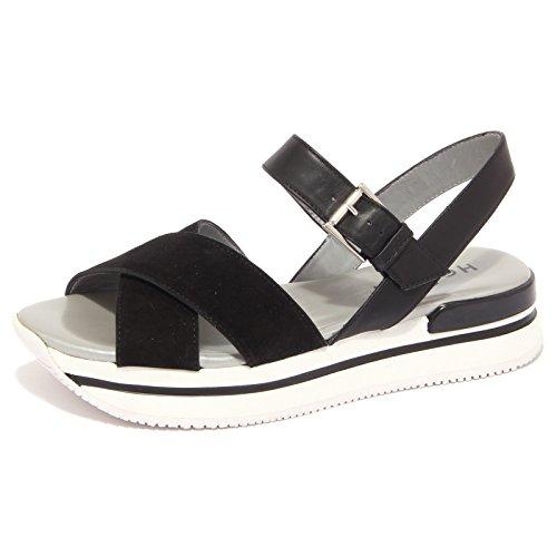 1429Q sandalo HOGAN nero scarpa donna sandal woman [38]