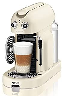 Nespresso Maestria Creamy white (beige) EN450CW De'Longhi - Cafetera monodosis (19 bares, Apagado automático, Vaporizador para la espuma), Color crema, diseño retro (B007BNG0AI) | Amazon price tracker / tracking, Amazon price history charts, Amazon price watches, Amazon price drop alerts