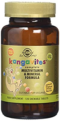 Solgar Kangavites Multivitamins for Childrens ( Tropical Punch) 120 Tablets from Solgar
