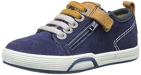 Aster Rouner, Baskets Basses Garçon, Bleu (Bleu Encre), 25 EU