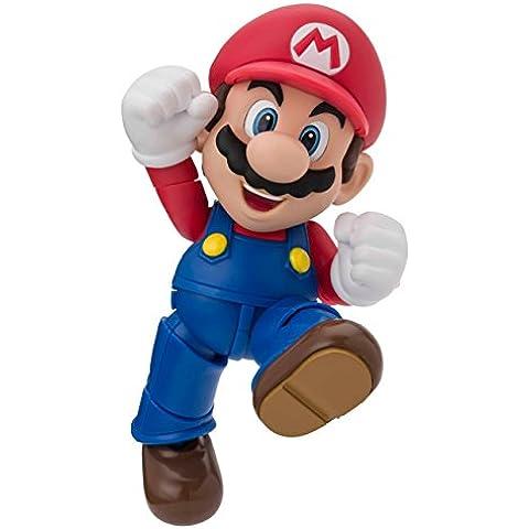 Bandai Tamashii Nations BTN83159-0 - Figura de acción Mario Bros (BTN83159-0) - Figura Super Mario (10cm) Figuarts