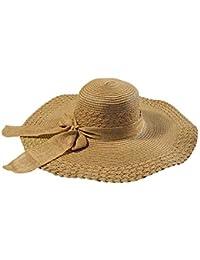 0b44b5c6753f9 Gorros Gorro Ancho para Mujer Sombrero Sombrero De El para Bastante Sol  Playa De Ocio Sombrero Gorra Protección…