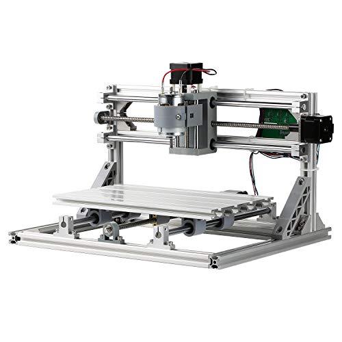 SainSmart Genmitsu CNC 3018 Router Kit GRBL Steuerung 3 Achsen Kunststoff Acryl PCB Holzschnitzerei Fräsen Graviermaschine, XYZ Arbeitsbereich 300x180x45mm