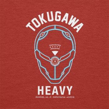 TEXLAB - Tokugawa Heavy Industry - Herren T-Shirt Rot