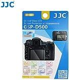 JJC GSP-D500 Coque de Protection d'écran LCD en Verre Optique pour Nikon D500 0,3mm