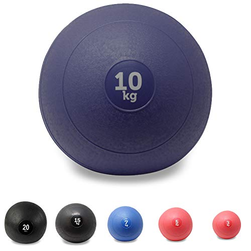POWRX - Slam Ball Balón Medicinal 3-20 kg - Ideal
