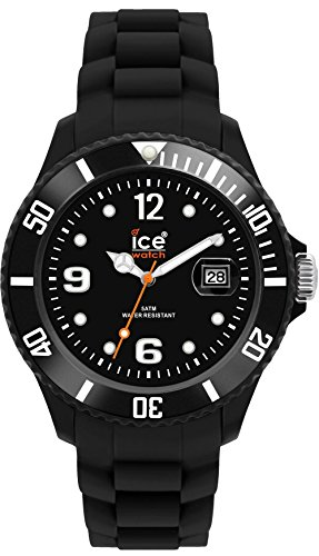 Ice-Watch - ICE forever Black - Schwarze Herrenuhr mit Silikonarmband