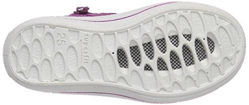 Superfit - Tensy Surround, Sneaker alte Bambina Rosa (Pink (DAHLIA KOMBI 74))