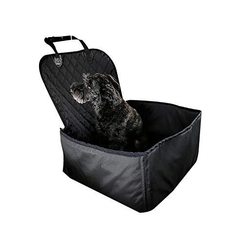 Pet Dog Carrier Pad Waterproof Dog Seat Bag Basket Safe Carry House Cat Puppy Bag Dog Car Seat,Black 45X45X58Cm,40X30X25Cm