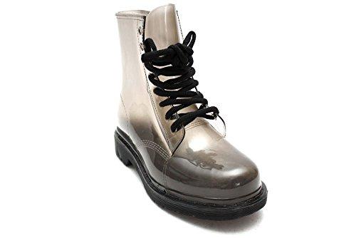 Mr Shoes, Damen Stiefel & Stiefeletten Schwarz Nero Bianco (bianco)