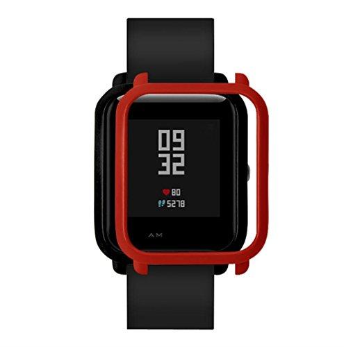 ZuverläSsig Weiche Silikon Fall Für Xiaomi Huami Amazfit Bip Bit Tempo Jugend Uhr Protector Rahmen Abdeckung Shell Für Amazfit Bip Zubehör Tragbare Geräte Intelligente Elektronik