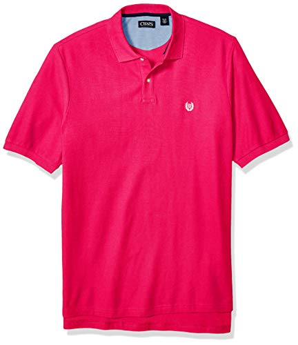 Big And Tall Mesh Polo Shirt (Chaps Herren Big and Tall Classic Fit Cotton Mesh Polo Shirt Poloshirt, Sport Pink, XXX-Large Hoch)