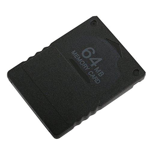 zhjz High Performance Echt 64MB Speicherkarte für PS2 - Slimline-ps2