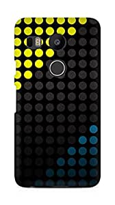 Amez designer printed 3d premium high quality back case cover for LG Nexus 5x (Dark designer)