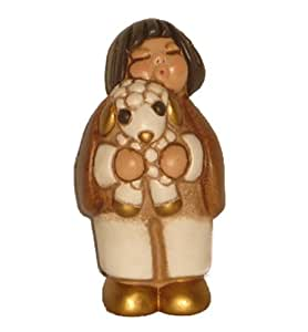 Thun classic nativity shepherd with lamb for Saldi thun amazon