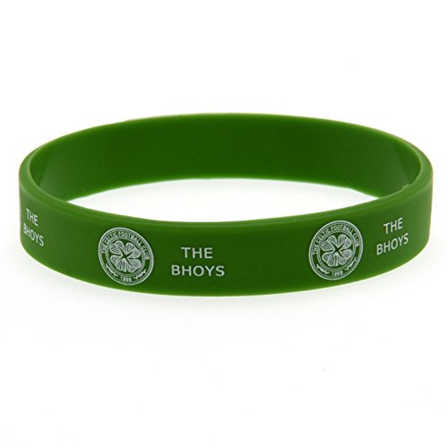 Official-GLASGOW-CELTIC-FC-green-rubber-wristband