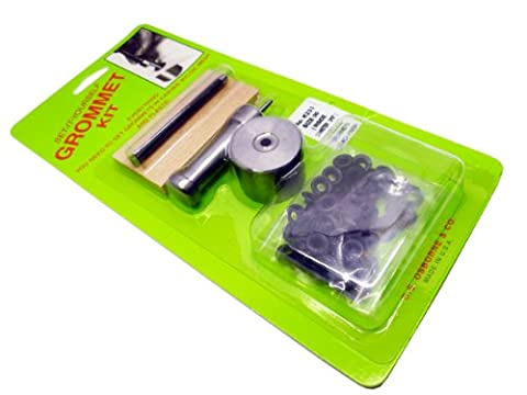 Size 00 (5mm) Home Use Dull Military Black Eyelet Kit