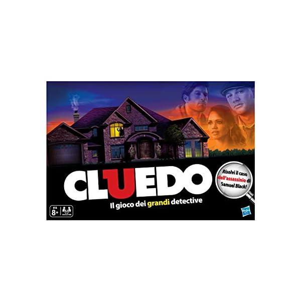 Hasbro Gaming - Cluedo, Gioco in Scatola 3 spesavip