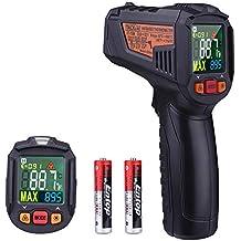 TACKLIFE IT-T08 Termómetro Infrarrojo Digital, Láser Termómetro Gun-50℃~380
