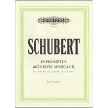 Impromptus, Moments Musicaux: Klavierwerke in 5 Bänden: Band 3