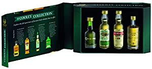 The Cooley Collection 4 x 5cl Irish Whiskey Miniature Gift Pack from Cooley