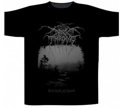 Preisvergleich Produktbild Darkthrone Black Death and Beyond T-Shirt Schwarz S