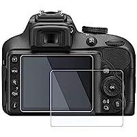 M.G.R.J® Tempered Glass Screen Protector for Nikon D3500 / D3400 / D3300 / D3200 / D3100