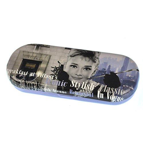 Audrey Hepburn Iconic Stylish Classic Glasses Case