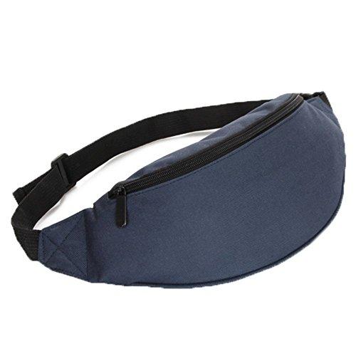 Ohmais Rücksack Rucksäcke Rucksack Beutel Schultasche Banane Leinwand für junge éudients Schülerin dunkelblau