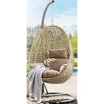 trendyshop365 xl polyrattan h ngesessel mit. Black Bedroom Furniture Sets. Home Design Ideas