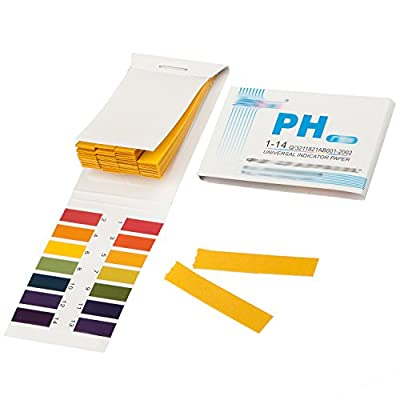 TRIXES Litmus pH 1 to 14 Test Paper Book 80 Strips
