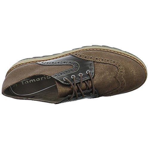 lacets de 1 femme Doré à ville 1 bronze bronze 23618 29 Tamaris pour Chaussures 916 zYR4xw