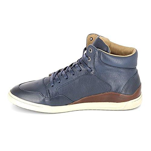 Kickers Crossover, Baskets Hautes Homme Bleu (bleu Foncé)