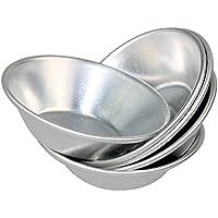 Keysui 24 pzas/lote Moldeador para hornear DIY tarta de huevo Molde del Horno Moldeador de molde del pudin de jalea galleta pastel de corazon Herramienta
