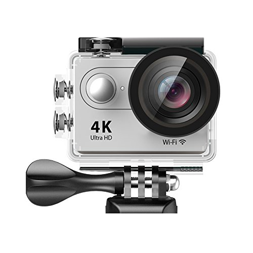 EKEN H9 Wifi Waterproof Action Camera 4K25fps with 2 Batteries...