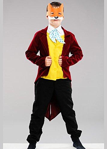 Fantastisch Fox Kostüm - Magic Box Int. Kindergröße Roald Dahl Fantastisches Herr Fox Kostüm XL (12-14 Years)